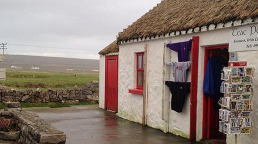 The shops at Kilmurvey. Photo: Arkell Weygandt