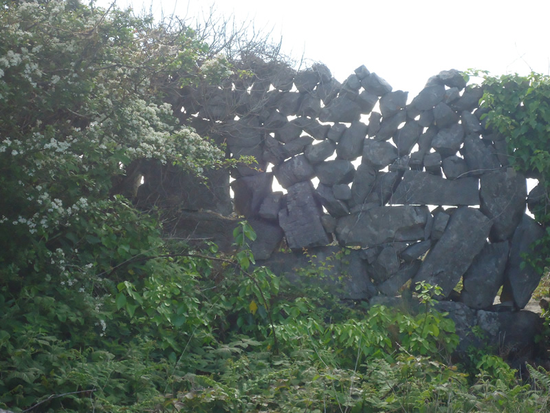 gate of a stone walll